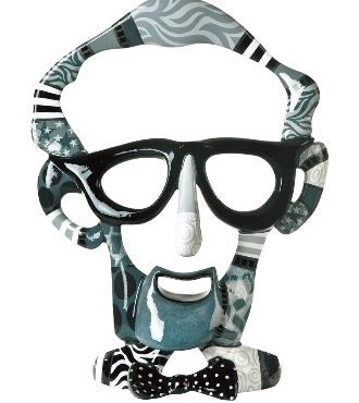 Woody Allen - 75 x 46 x 35 cm - Sculpture en bronze