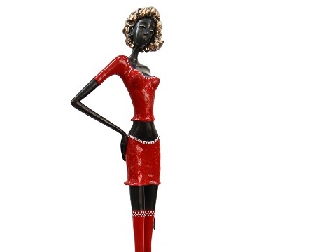 "Judit - 40"" - Bronze sculpture, unique work"