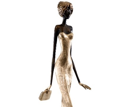 "Marie - 68"" - Bronze sculpture,"