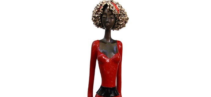 "Florance - 70"" - Bronze sculpture,"